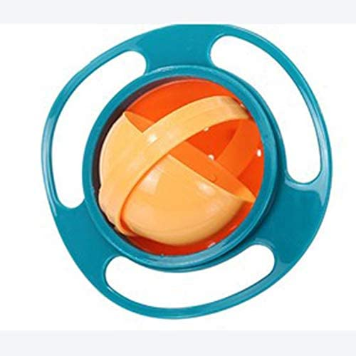 Tazón Giratorio 360º  Para Bebe Anti Derrames Con Tapa